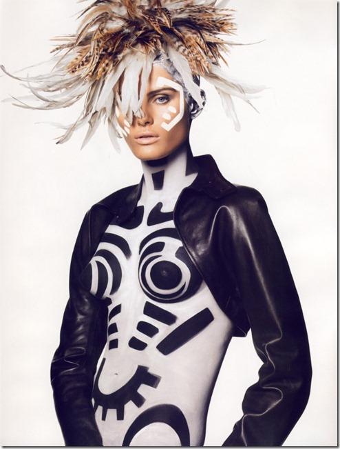 Isabeli Fontana pentru Vogue Paris